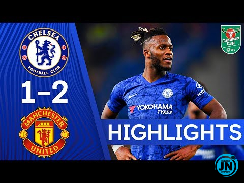 Chelsea vs Manchester United 1-2 – All Goals & Highlights